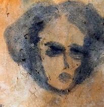 Portrait, Frau, Menschen, Malerei