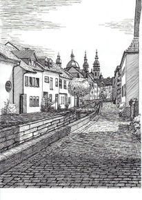 Bach, Baum, Fulda, Dom