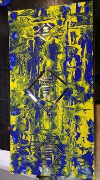 Spiegel scherben, Broken mirror, Kunsthandwerk,