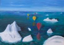 Kalt, Eisberg, Ballone, Bunt