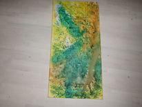 Abstrakt, Acrylmalerei, Dekoration, Wandbild