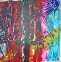 Abstrakt, Bunt, Modern, Streifen