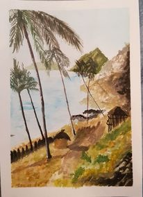 Acrylmalerei, Farben, Malerei, Aquarell
