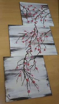 Acrylpainting, Modern art, Acrylmalerei, Malerei modern