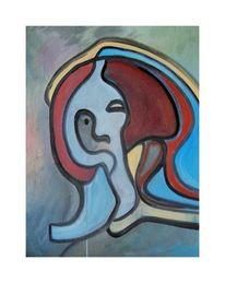 Frau, Modern, Malerei