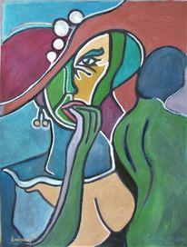 Frau, Untreu, Seitensprung, Hut