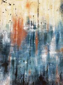 Farben, Abstrakt, Malerei acrylmalerei, Modern art
