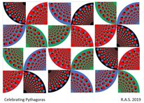 Pythagoras, Repetition, Spielerei, Digitale kunst