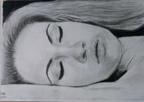 Schlaf, Frau, Schneewittchen, Zeichnungen