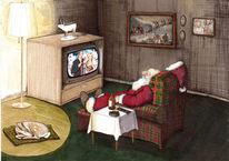 Ptrekär, Weihnachtsmann, Fernsehen, Illustrationen
