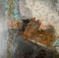 Abstrakt, Rost, Acrylmalerei, Malerei