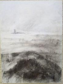Meer, Insel, Küste, Zeichnungen