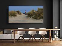 Ostsee, Kunstdruck, Fotografie, Strand