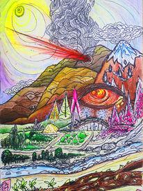 Freie energie, Magie, Psychedelisch, Vision
