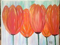 Blumen, Pflanzen, Tulpen, Fantasie