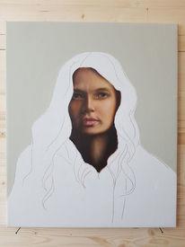 Menschen, Ölmalerei, Portrait, Fotorealismus