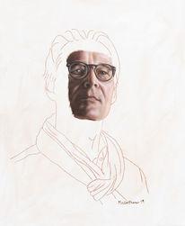 Ölmalerei, Fotorealismus, Portrait, Menschen
