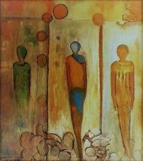 Stein, Mauer, Fenster, Figur