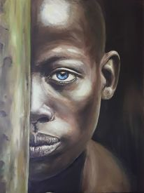 Ölmalerei, Äthiopien, Afrika, Malerei