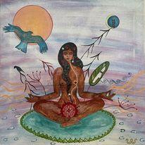 Schönheit, Meditation, Kraft, Weisheit