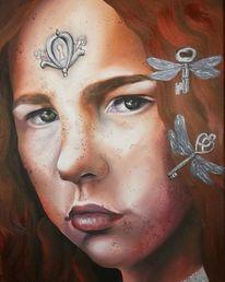 Menschen, Poesie, Malerei, Portrait
