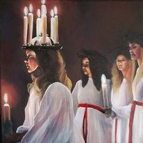 Lichterfest, Folklore, Skandinavien, Mädchen