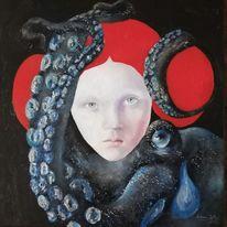 Portrait, Russland, Malerei,