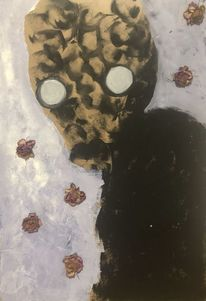 Blumen, Traum, Monster, Malerei
