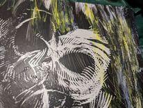 Ausschnitt, Vogel, Abstrakt, Malerei