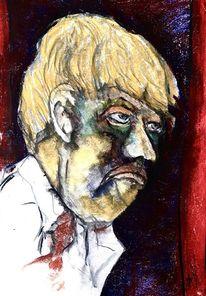 Blond, Angst, Malerei,