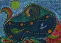 Farben, Seele, Intuitive, Malerei
