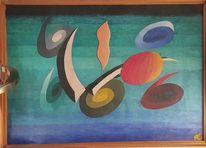 Pinnwand, Gemälde