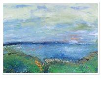 Sehnsucht, Landschaft, Meer, Licht