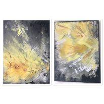 Abstrakt, Sommer, Sonne, Duo
