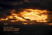 Wolken, Text, Schatten, Licht