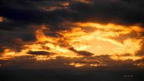 Himmel, Augen, Wolken, Sonne