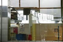 Fassade, Bahnhof, Abstrakt, Schatten