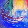 Malerei, Boot