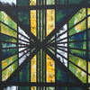 Malerei, Grün, Gelb, Kirche