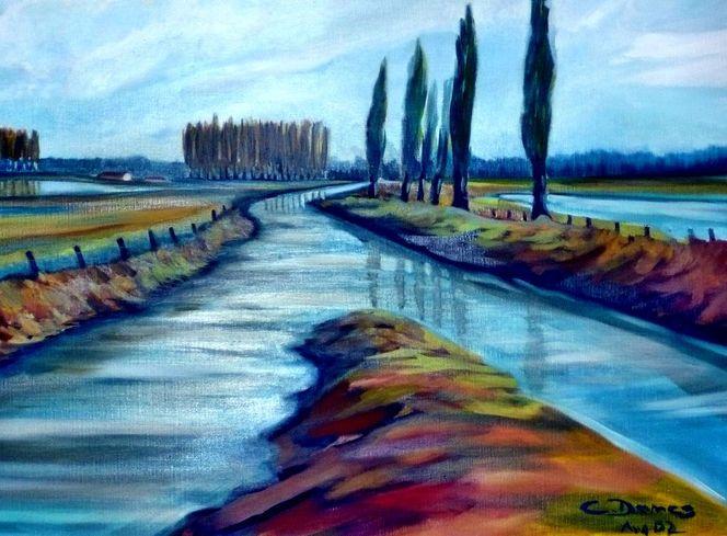 Niederrhein, Malerei,