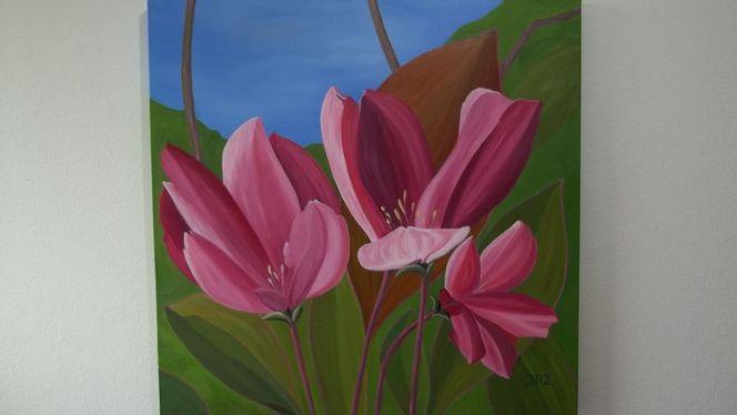 Kirsche, Ölmalerei, Apfel, Malerei, Blüte, Natur