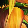 Flora, Pflanzen, Ölmalerei, Blüte