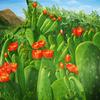 Blüte, Ölmalerei, Flora, Landschaft