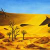 Natur, Landschaft, Sand, Wüste
