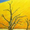 Dünen, Flora, Ölmalerei, Landschaft