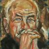 Armin müller stahl, Portrait, Malerei, Stahl