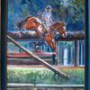 Geländeritt, Pferdeportrait, Pferdemaler, Malerei