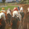 Pferdesport, Pferderennen, Turf, Pferdemalerei