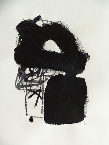 Weiß, Schwarz weiß, Komposition, Malerei