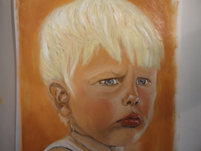 Portrait, Gesicht, Augen, Kopf, Kind, Junge
